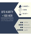 UFO karty +100 her