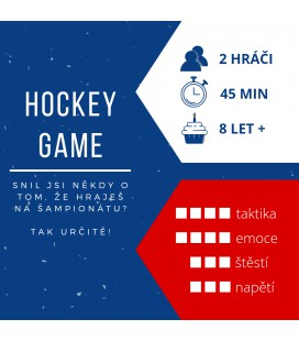 HOCKEY GAME: Duel